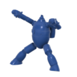Gigantor new SLA v7.png Télécharger fichier STL gratuit Gigantor (鉄人28号Tetsujin Nijūhachi-gō) robot • Objet à imprimer en 3D, Jangie