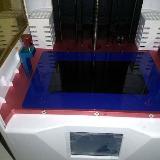 IMG_20200403_111733.jpg Télécharger fichier STL gratuit Sceau de l'écran du Photon S de Anycubic • Plan pour impression 3D, Jangie