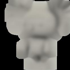 Koala_Pucca_2.stl Télécharger fichier STL gratuit Koala (de la série animée Pucca) • Modèle pour impression 3D, Jangie
