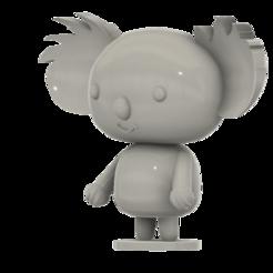 Koala_SLA_v4.png Download free STL file Koala (from the Pucca anime series) • 3D printer template, Jangie