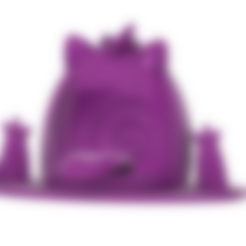 Gigantamax Gengar.stl Télécharger fichier STL gratuit Gigantamax Gengar dans un marais (Pokemon) キョダイマックス ゲンガー • Design pour imprimante 3D, Jangie