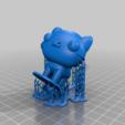 Mio_Cat_supports.png Télécharger fichier STL gratuit Mio chat (PUCCA) • Modèle imprimable en 3D, Jangie