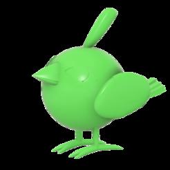 Download free STL Natu Pokemon (ネイティ Neiti), Jangie