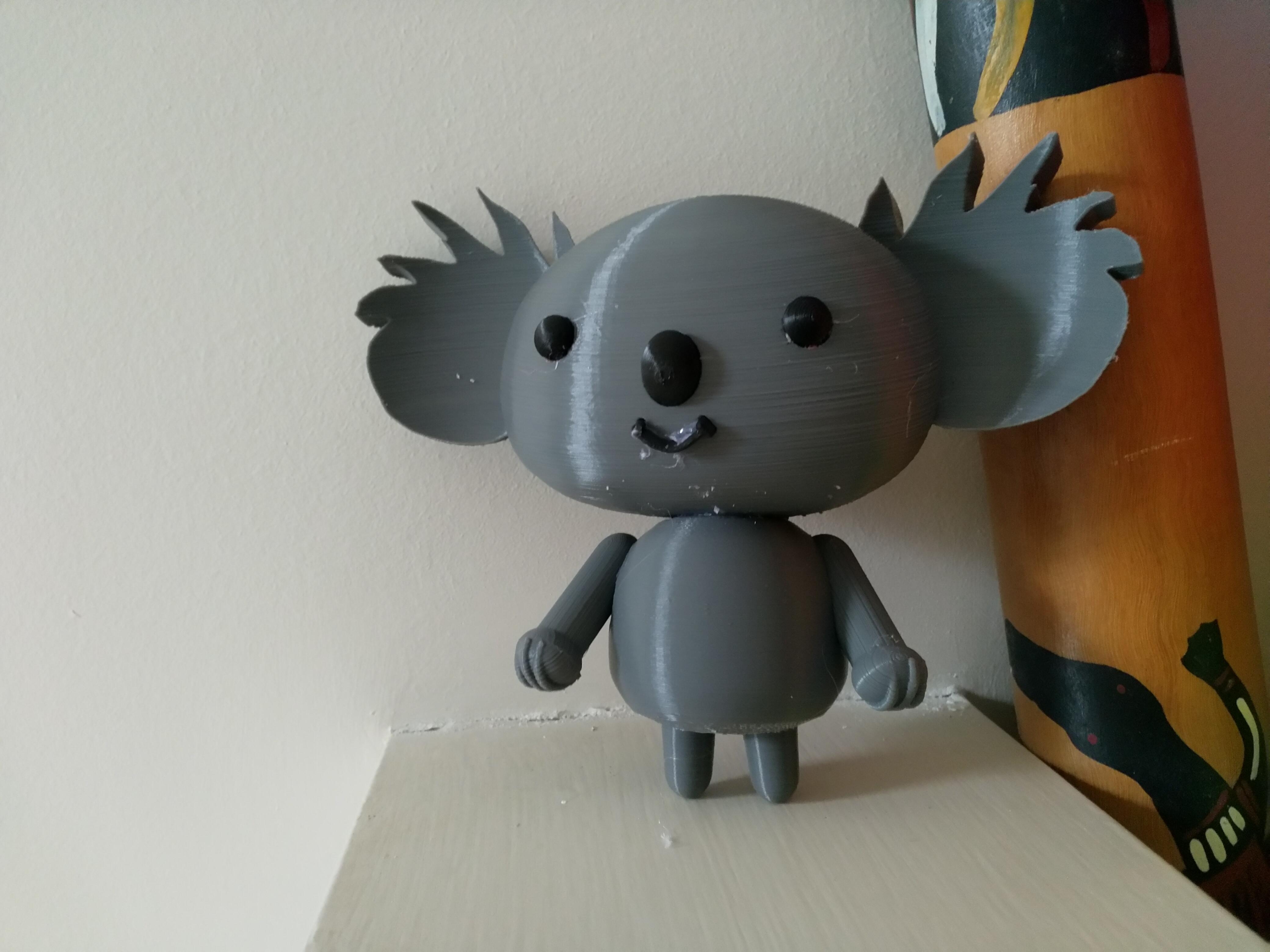 IMG_20200206_154251.jpg Télécharger fichier STL gratuit Koala (de la série animée Pucca) MMU • Objet à imprimer en 3D, Jangie