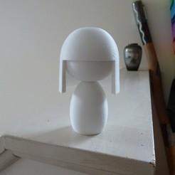 P1020184.JPG Télécharger fichier STL gratuit Poupée japonaise (ningyo) 人形 • Modèle pour impression 3D, Jangie