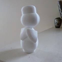 P1020190.JPG Télécharger fichier STL gratuit Poupée japonaise III (ningyo 3) 人形 • Objet imprimable en 3D, Jangie
