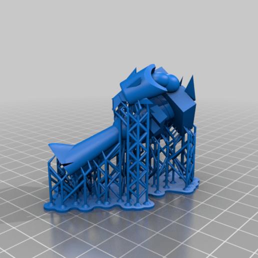 Robo_Devo_3000_supports.png Télécharger fichier STL gratuit Robo Dexo 3000 (Robot du laboratoire de Dexter) • Objet imprimable en 3D, Jangie