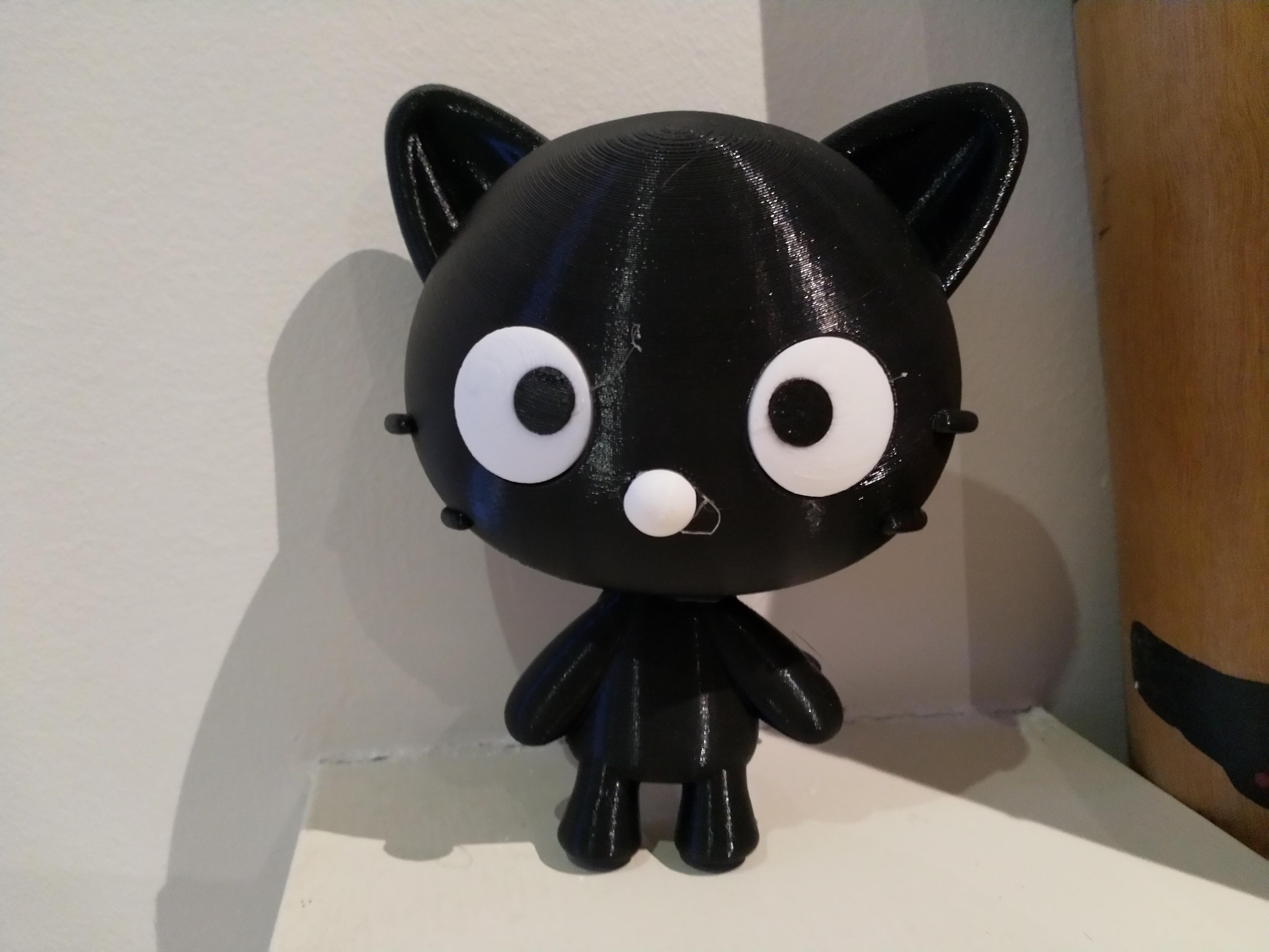 IMG_20200211_194844.jpg Télécharger fichier STL gratuit Chococat (チョコキャット, Chokokyatto) de Hello kitty • Modèle pour imprimante 3D, Jangie