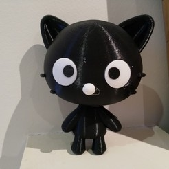 Download free STL files Chococat (チョコキャット, Chokokyatto), Jangie