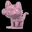 Yani_cat_SLA_v5.png Télécharger fichier STL gratuit Chat Yani (Pucca) • Objet imprimable en 3D, Jangie
