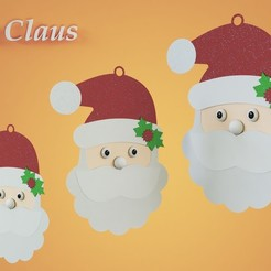 Download 3D printing models Father Christmas, carlosbacallao311