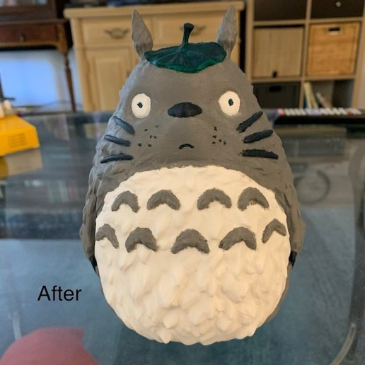 Download free STL Totoro(My Neighbor Totoro), PatrickFanart
