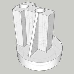 Descargar STL gratis Encendedor de cigarros Conector T, VvortexX