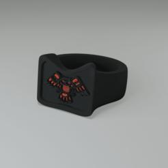 Télécharger plan imprimante 3D gatuit bague avec chouette, davidsawyer1984