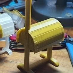 porte selle_V1.jpg Télécharger fichier STL porte selle • Objet à imprimer en 3D, davidsawyer1984