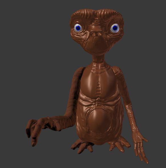 IMAGE_higt poly.JPG Télécharger fichier STL E.T L'extraterrestre • Objet imprimable en 3D, davidsawyer1984