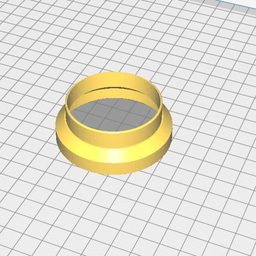 """Télécharger plan imprimante 3D gatuit adaptateur de filtre a air d'origine de MVL / vogue """"phase2"""" sur carbu SHA15, service-underbulk"""