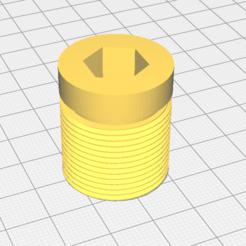 Capture d'écran 2020-09-15 19:41:53.png Download free STL file fork cap motobecane ew • 3D printer template, sunshine-moped