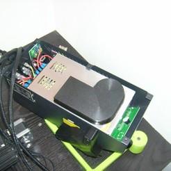 Télécharger fichier STL gratuit -80% de bruit ! capot réducteur de bruit pour allimentation d'imprimante 3D • Plan pour imprimante 3D, sunshine-moped