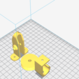 Download free STL file guide pulley + holding hook for 3D printer • 3D printing template, sunshine-moped