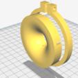Download free 3D printer templates venturi for carburettor SHA 15, sunshine-moped
