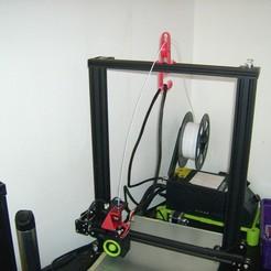 Télécharger fichier STL gratuit poulie de guidage + crochet de maintien pour imprimante 3D • Modèle pour imprimante 3D, sunshine-moped