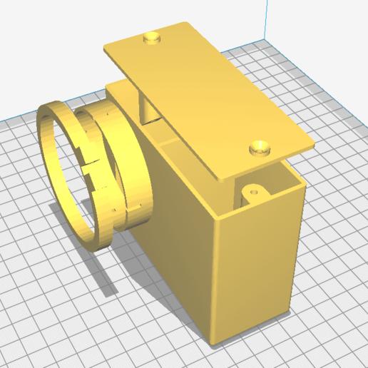 Download free STL file air box for dellorto SHA 15 carburettor • 3D printing template, sunshine-moped