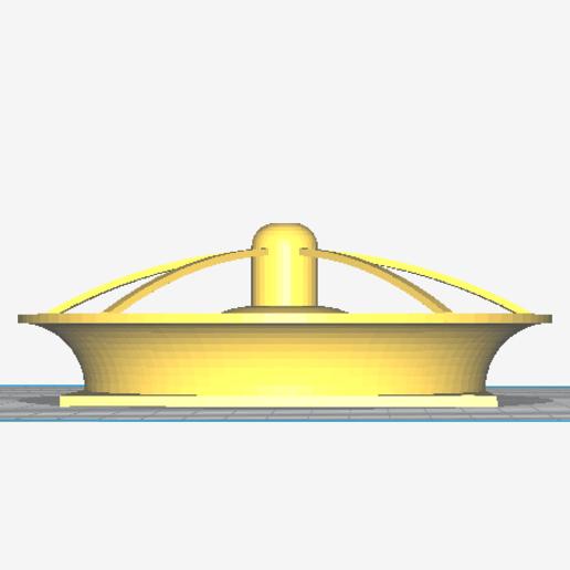Capture d'écran 2020-05-14 13:51:02.png Download free STL file venturi for fan 220V 12cm (model 2) • 3D print template, sunshine-moped