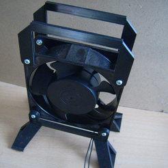 Télécharger fichier STL gratuit accésoire ventilateur 120mm • Design pour imprimante 3D, sunshine-moped