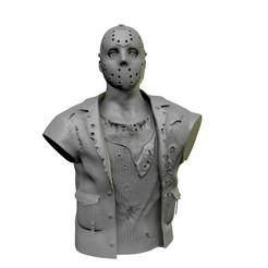 Jason_Vorhees.jpg Download STL file Jason Vorhees Bust • 3D printing object, cristianosalviano