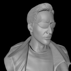 0.jpg Télécharger fichier STL MATRICE NEO (Keanu Reeves) BUST • Design pour impression 3D, cristianosalviano