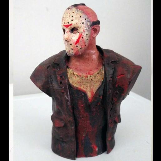3D-printerontwerpen downloaden Jason Vorhees Bust, cristianosalviano