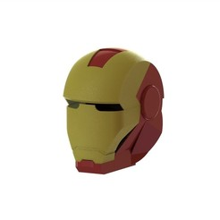 Download free STL files iron man helmet, mathiscovelli