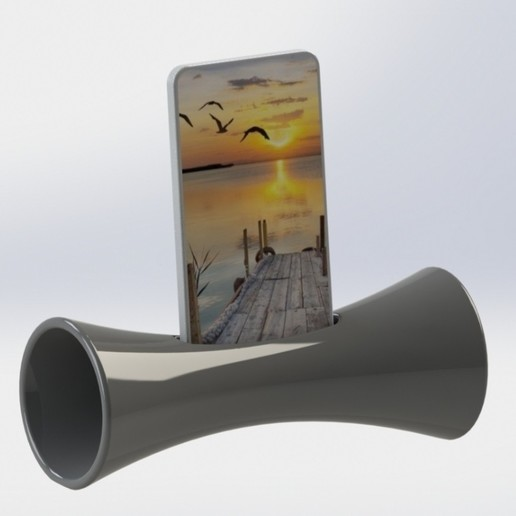 Download free 3D model telephone sound amplifier, mathiscovelli