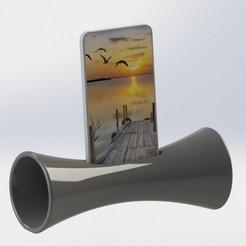 Descargar archivos 3D gratis amplificador de sonido para teléfono, mathiscovelli