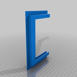 """7_inch_tablet_mount_left.png Télécharger fichier STL gratuit linx 7"""" tablet wall mount • Modèle à imprimer en 3D, Screedy83"""