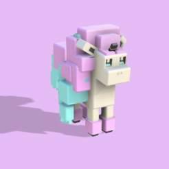 Télécharger fichier imprimante 3D gratuit (quête du pokémon) ponyta, lovecocoa0411