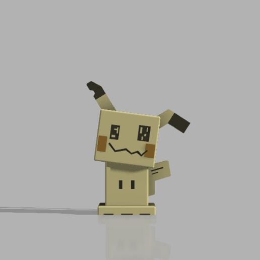 Télécharger fichier 3D gratuit (quête pokémon) mimikyu, lovecocoa0411