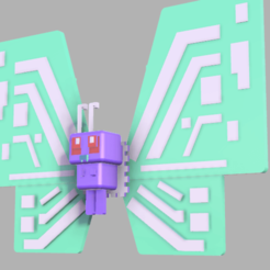 Download free 3D model (pokemon quest) Butterfree(gigantamax), lovecocoa0411