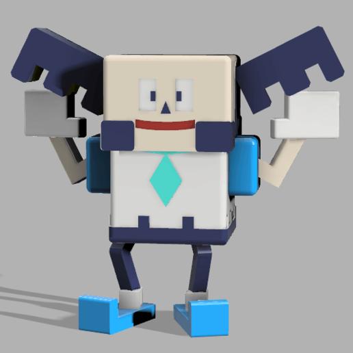 Télécharger modèle 3D gratuit (quête pokémon) M.mime galarregion, lovecocoa0411