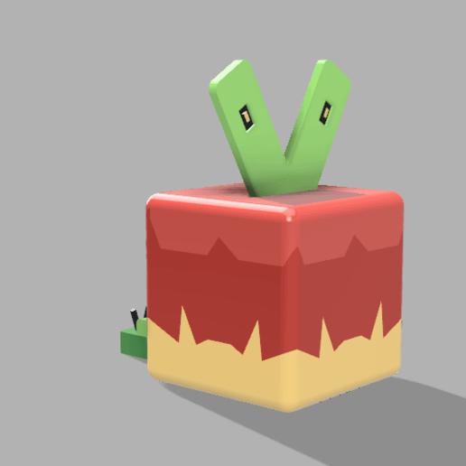 Télécharger fichier imprimante 3D gratuit (quête pokémon) Applin, lovecocoa0411