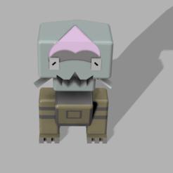 Descargar modelo 3D gratis pokemon quest Dracovish, lovecocoa0411