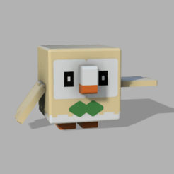 Download free 3D printer designs (pokemon quest) rowlet, lovecocoa0411