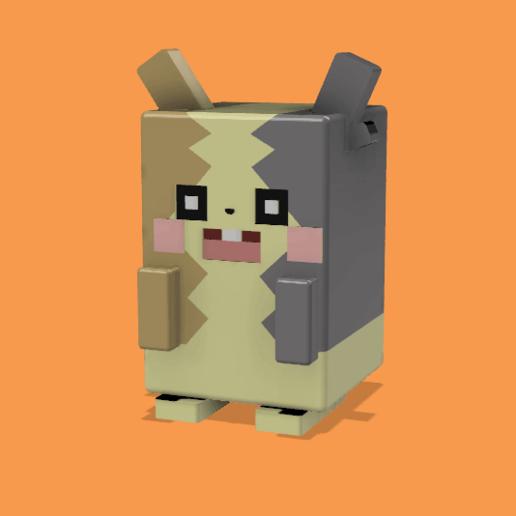 Télécharger modèle 3D gratuit (quête pokemon) morpeko, lovecocoa0411