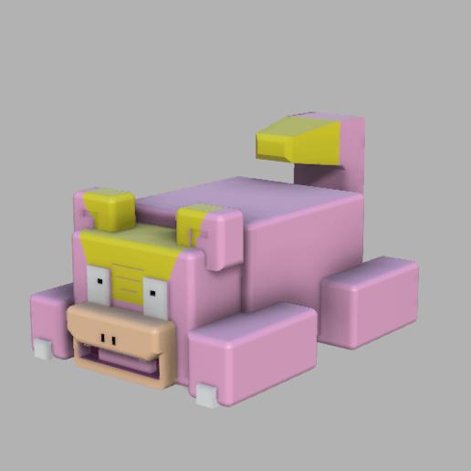 Télécharger objet 3D gratuit (quête pokemon) galarregion slowpoke, lovecocoa0411