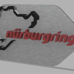 Plaque nurb.png Download STL file Nurburgring • 3D printable template, jemynator