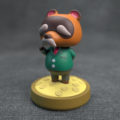 Nook_01.png Download OBJ file Animal Crossing - Old Tom Nook • 3D printing object, MarProZ_3D