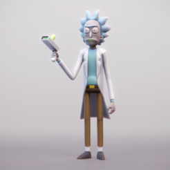 Télécharger fichier 3D Rick & Morty, MarProZ