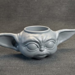 Download 3D printing models BabyYoda - Cup, MarProZ