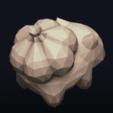 12.png Télécharger fichier OBJ Pokemon Bulbasaur LowPoly • Modèle pour impression 3D, MarProZ_3D